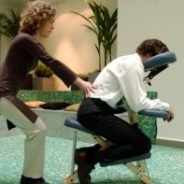 Le shiatsu ou massage sur chaise