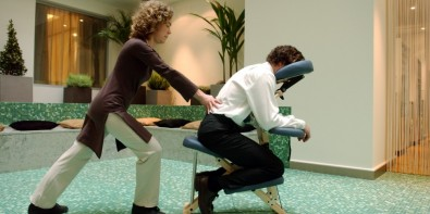 Le shiatsu à geneve ou massage sur chaise Massage-assis